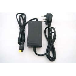 Battery charger for Powakaddy using Yellow / Black Torberry / Anderson Connector